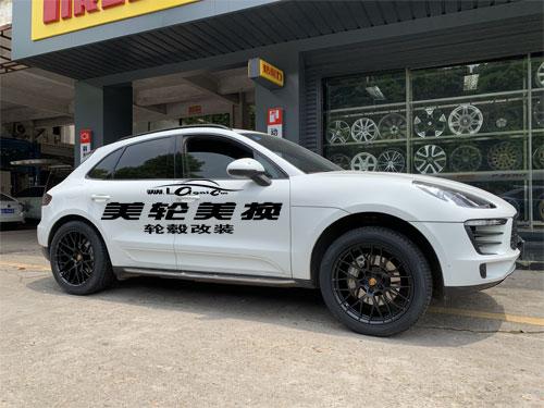 保时捷MACAN轮毂轮胎改装升级